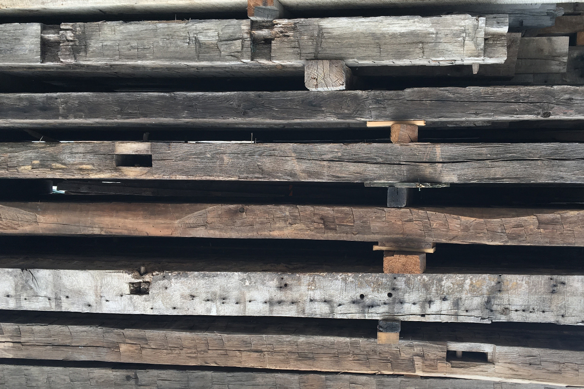 Reclaimed timber and reclaimed wood