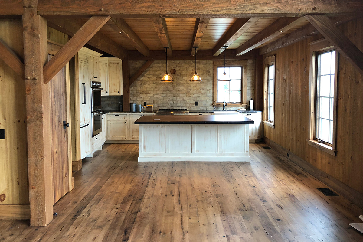 Reclaimed Wood Flooring: What You Should Know