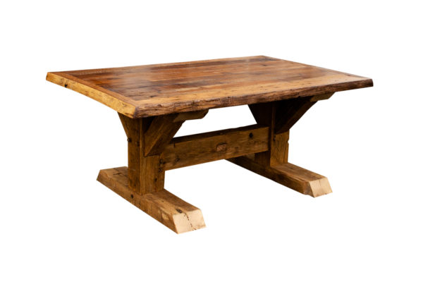Live Edge, Skip Planed Barn Beam Table